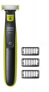 Philips Norelco OneBlade Hybrid Electric Trimmer best electronic Gadgets For Men