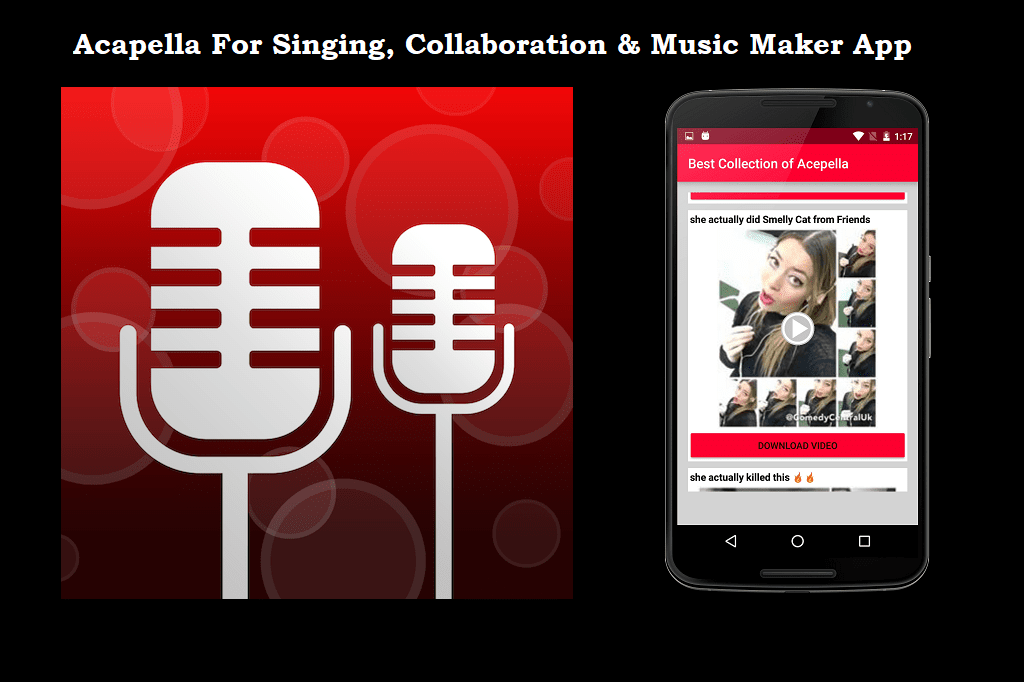 Acapella App For Collaboration and Music Maker