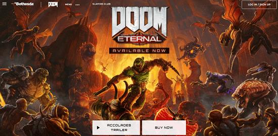 2. Doom Eternal game