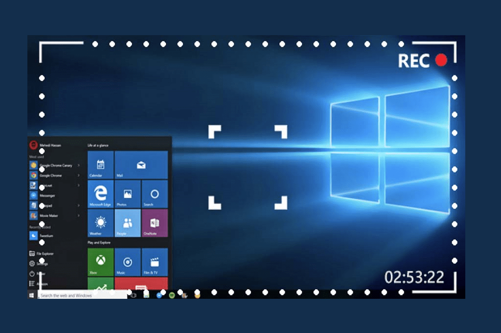 How To Record Screen In Laptop Windows 10