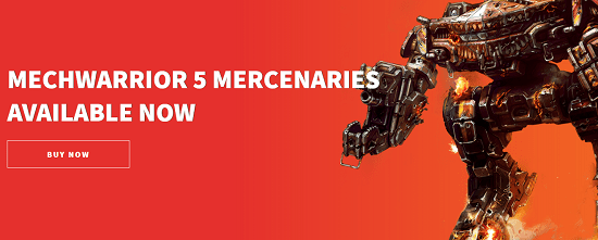 8. MechWarrior 5: Mercenaries PC Games