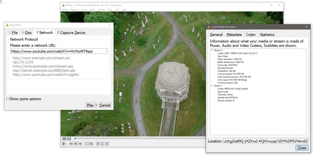 VLC media players is best YouTube videos downloader In desktops