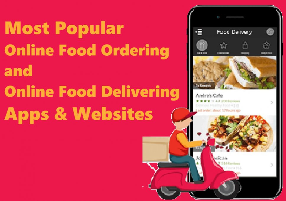 list of online food ordering websites in India