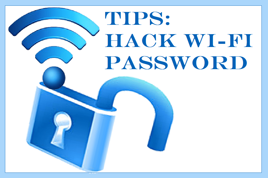 how to hack wifi password without software