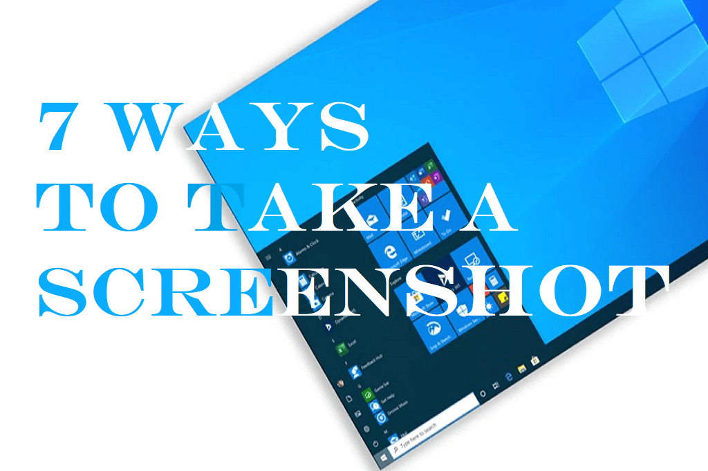 How to take Screenshot in PC and Laptops