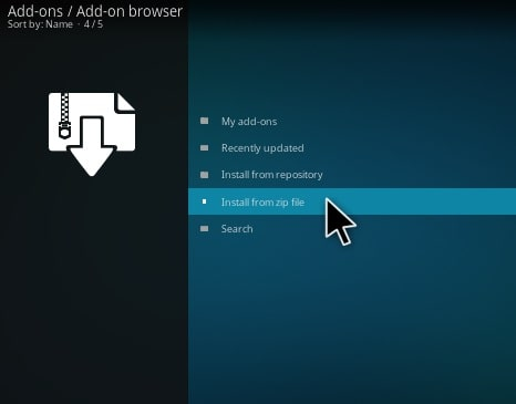 Step10-how to install 123movies on kodi addons