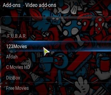 Step13-how to use 123Movies on Kodi addons
