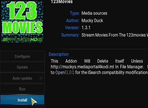 Step14-how to use 123Movies on Kodi addons