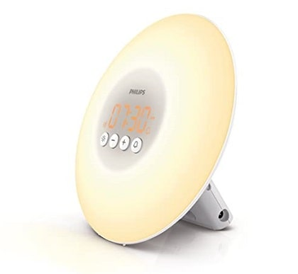 Philips's wake light alarms clock Light Therapy Alarm Clock tech gifts for women