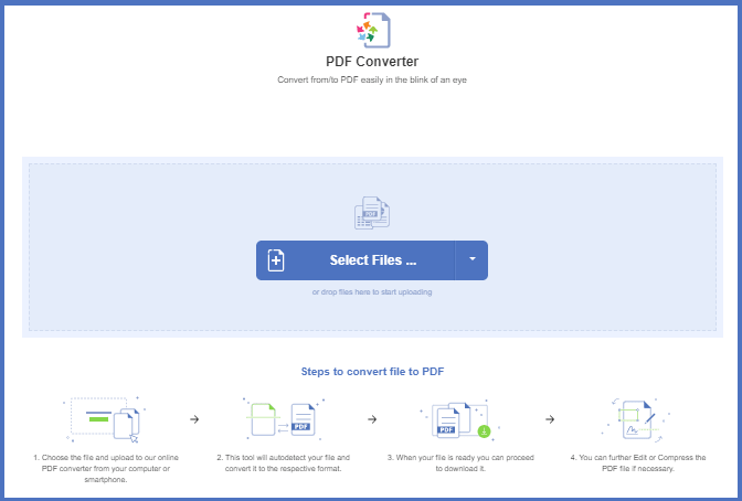 How Convert PDF File Online by PDFBear