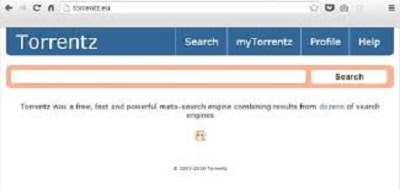5. Torrentsz2 – Ultra Fast Torrent Search Engine Best for Music