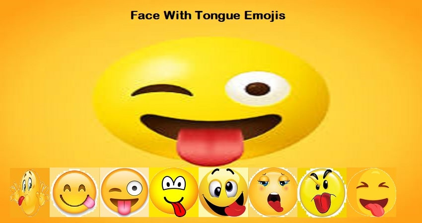 Top 5 😛 Face with Tongue emojis