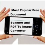 Best Free Document Scan Software India PDF to Image