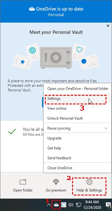 Description: onedrive-settings