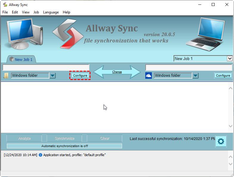 Description: allway-sync-configure-folders