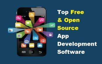 Free open source mobile app application development-min