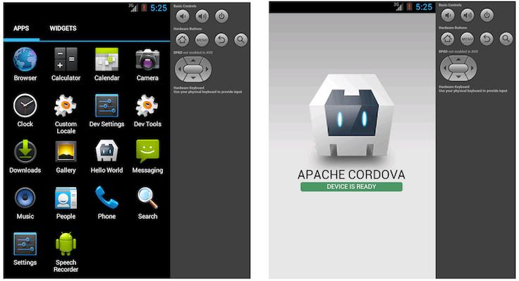 mobile application development platform
