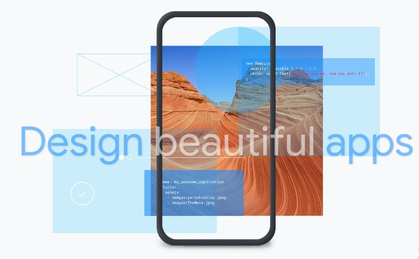 Create faster apps, Design beautiful apps