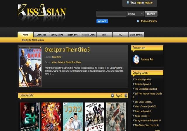 KissAsian Korean Drama App For Watching Asian Movies